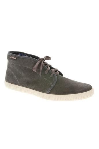 victoria chaussures homme de couleur gris