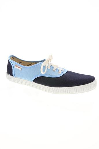 victoria chaussures homme de couleur bleu