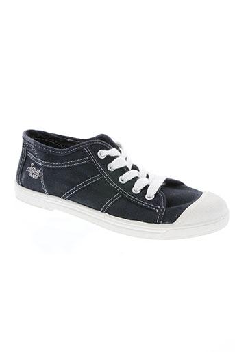 japan rags chaussures garçon de couleur bleu