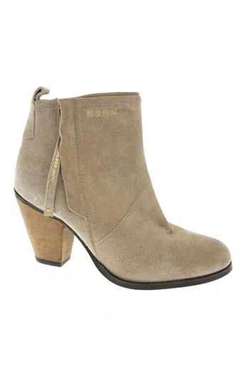 superdry chaussures femme de couleur beige
