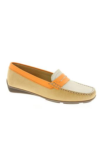 johann chaussures femme de couleur beige