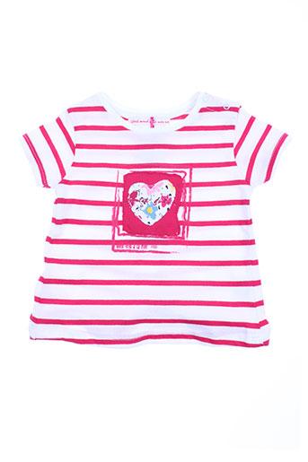 week end a la mer t-shirts fille de couleur rose