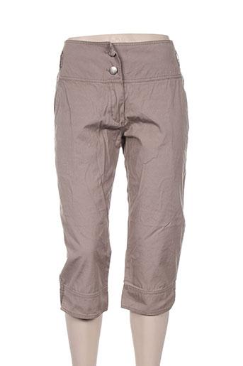 kalaïs shorts / bermudas femme de couleur marron