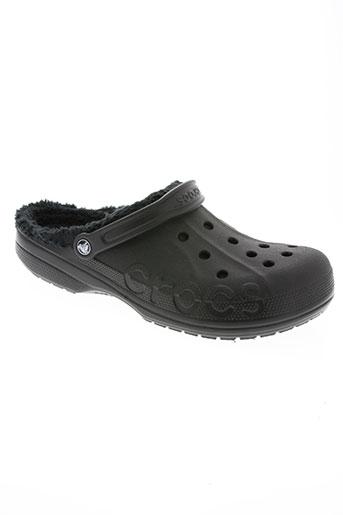 crocs chaussures homme de couleur noir