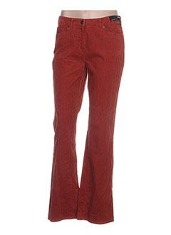 Pantalon casual marron GARDEUR pour femme