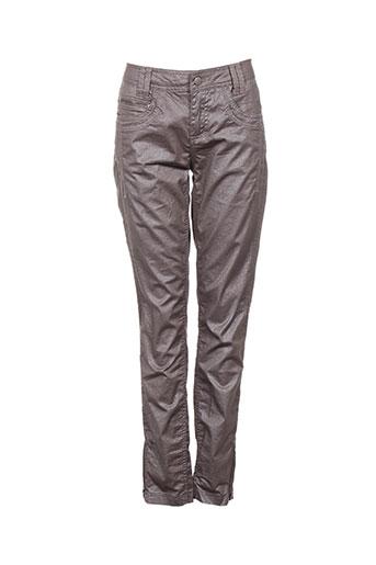 r867 pantalons femme de couleur violet