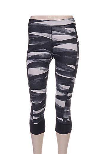 adidas pantalons femme de couleur noir