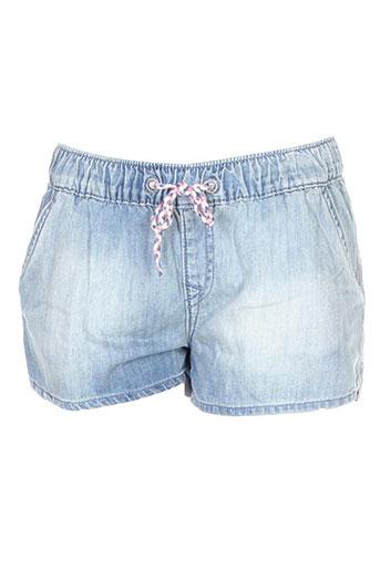 roxy girl shorts / bermudas fille de couleur bleu
