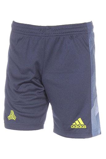 adidas shorts / bermudas garçon de couleur bleu