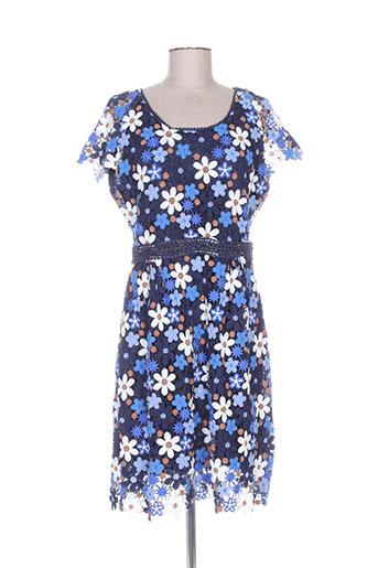 gerard darel robes femme de couleur bleu