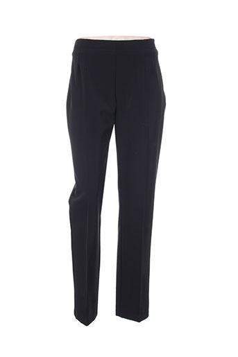 aventures des toiles pantalons femme de couleur noir