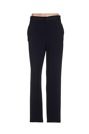 crea concept pantalons femme de couleur noir