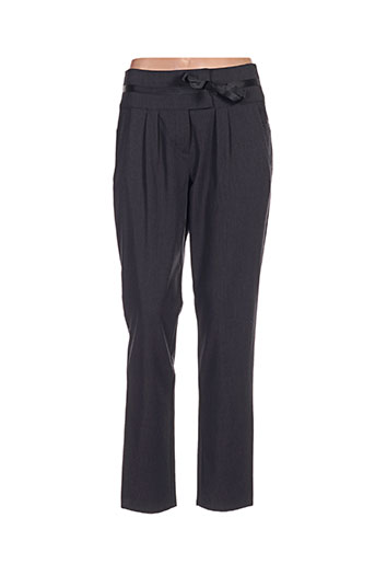 betty and co pantalons femme de couleur gris