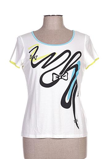 poupee chic t-shirts femme de couleur blanc