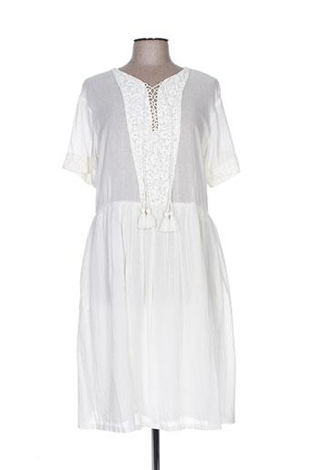 pablo gerard darel robes femme de couleur blanc