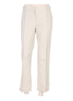 Pantalon 7/8 beige MAXMARA pour femme