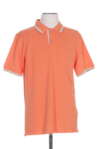 casual spirit t-shirts homme de couleur orange