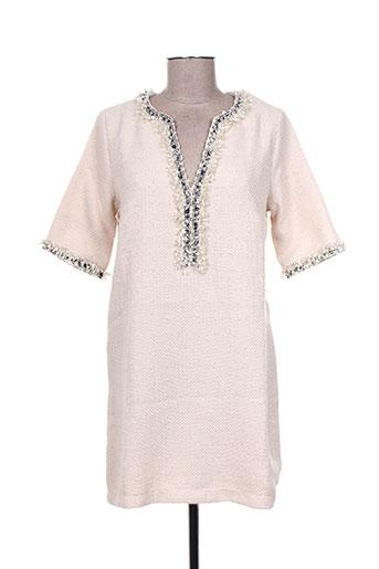 cherry robes femme de couleur beige