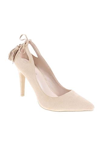 kerline chaussures femme de couleur beige