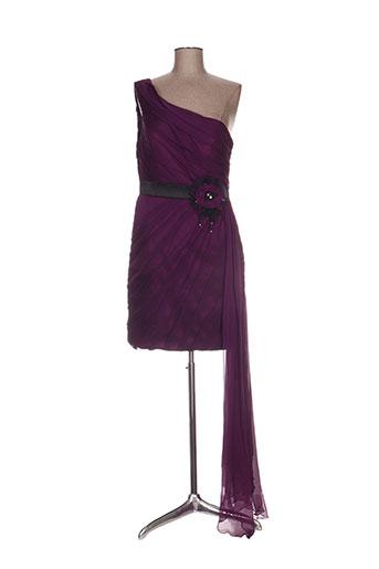 juju & christine robes femme de couleur violet