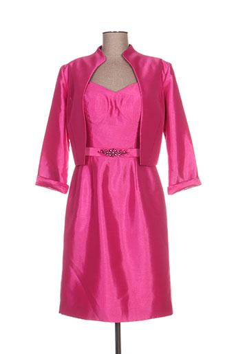 Veste/robe rose FASHION NEW YORK pour femme