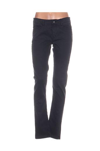 cks pantalons femme de couleur bleu