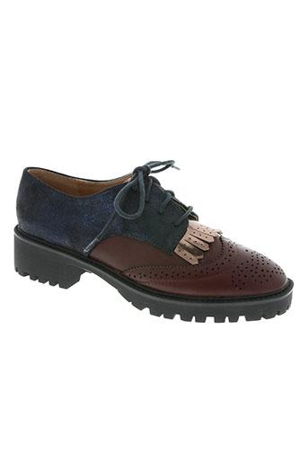 vanessa wu chaussures femme de couleur rouge