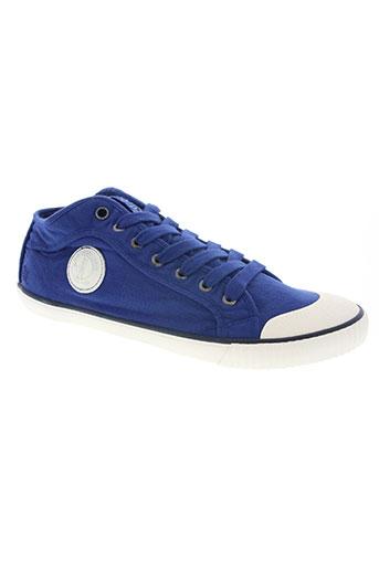 pepe jeans chaussures homme de couleur bleu