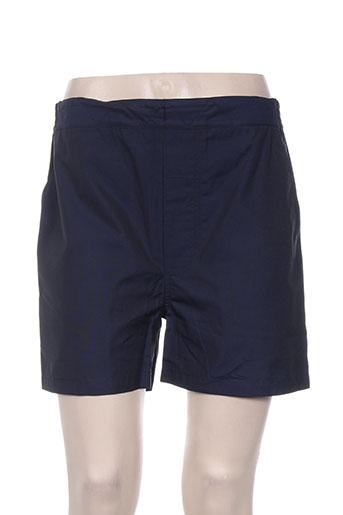 vanessa bruno shorts / bermudas femme de couleur bleu