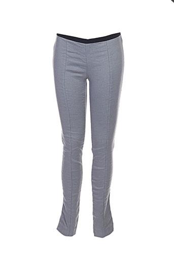 Pantalon casual gris FORTE-FORTE pour femme