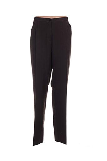 griffon pantalons femme de couleur marron