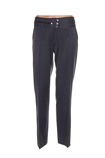 femmes je vous aime pantalons femme de couleur gris 64ffee9524c