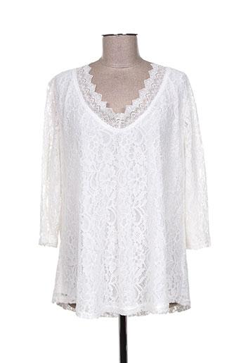 halo paris chemises femme de couleur blanc
