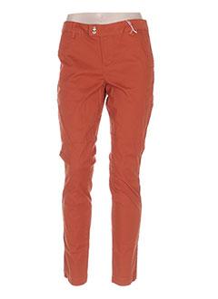 Pantalon casual marron LES P'TITES BOMBES pour femme