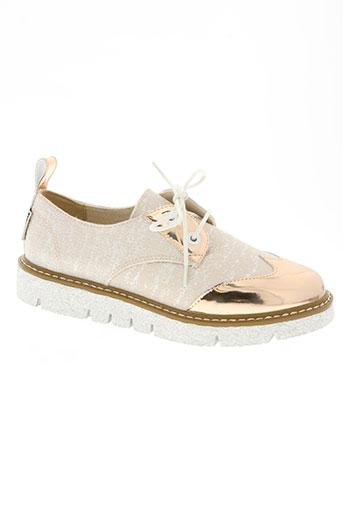 armistice chaussures femme de couleur rose