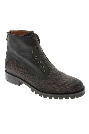 little...la suite chaussures femme de couleur marron