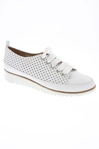 myma chaussures femme de couleur blanc