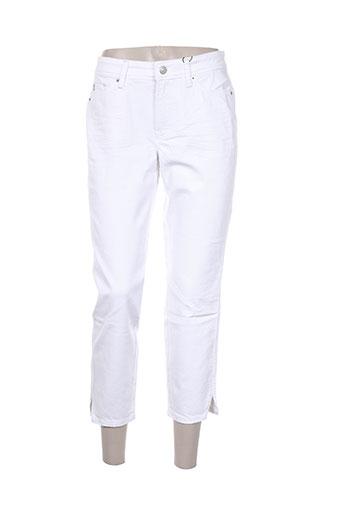 cambio pantacourts femme de couleur blanc