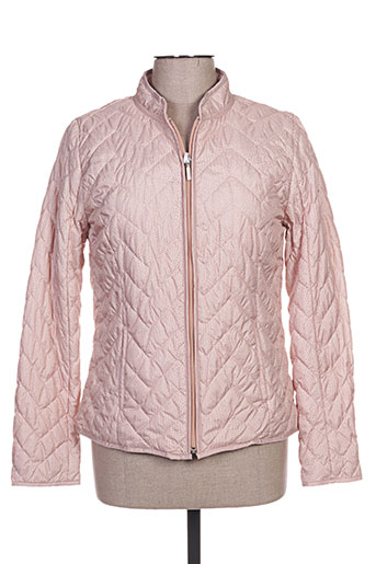 canasport manteaux femme de couleur rose