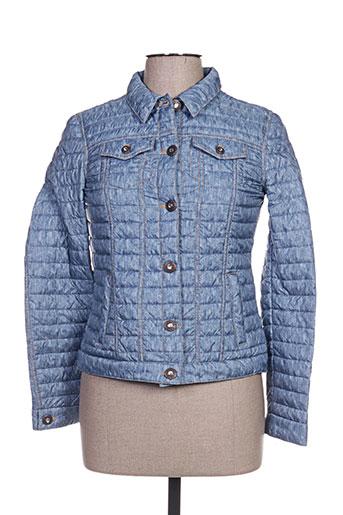 canasport manteaux femme de couleur bleu