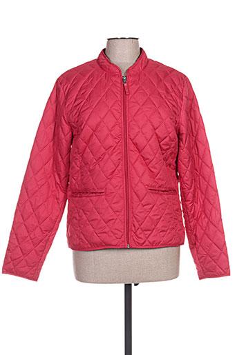 jensen manteaux femme de couleur rouge
