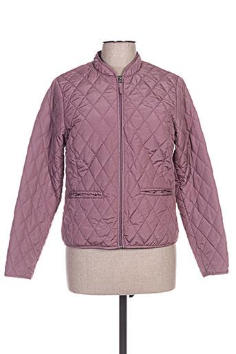 jensen manteaux femme de couleur violet