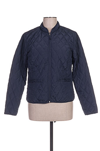 jensen manteaux femme de couleur bleu