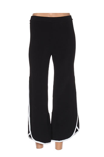 escorpion pantalons femme de couleur noir
