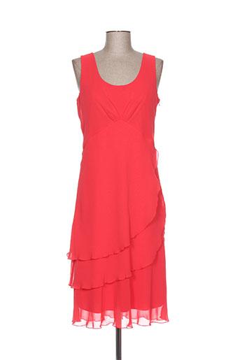 jean delfin robes femme de couleur rouge