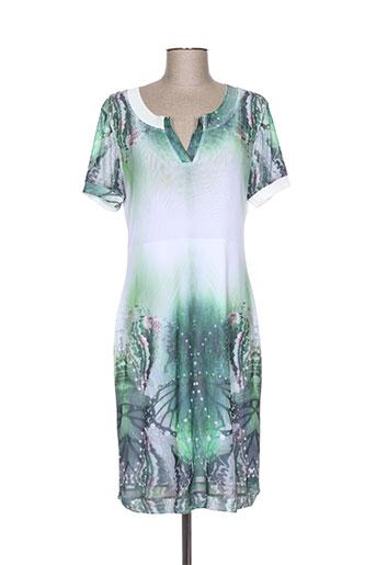 etoile du monde robes femme de couleur vert