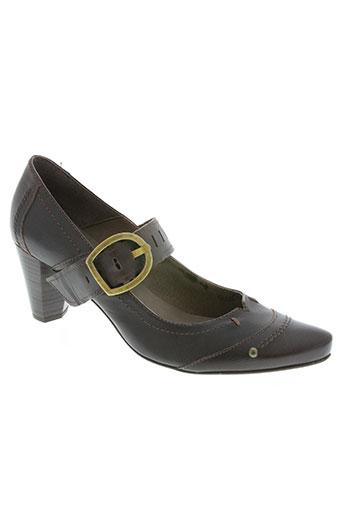 connivence chaussures femme de couleur marron