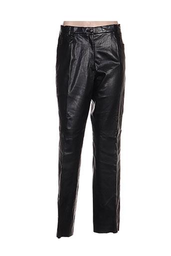 Pantalon casual noir HAUBER pour femme