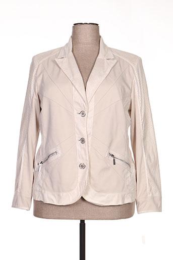 Veste casual beige CONCEPT K pour femme