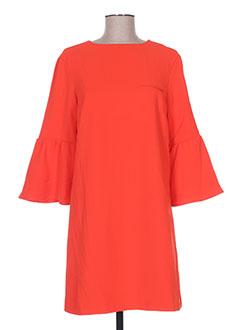 Robe courte rouge CUBIC pour femme